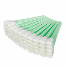 50 PRINTER SWABS FOAM HEAD SOLVENT CLEANING EPSON HP ROLAND MIMAKI MUTOH ECO