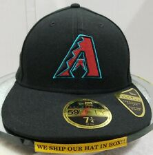 Arizona Diamondbacks~MLB~New Era~59FIFTY~Authentic~On Field~ALT 2017~Black