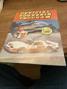 1985 All Pro Super Series Short Track Racing Program Yearbook