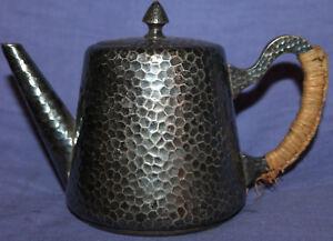 Vintage metal tea coffee milk pot
