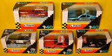 5 POLISTIL METAL JAGUAR X PORSCHE 928 BMW ALFETTA 1.40 scale 1981 MIsB model car