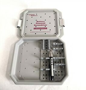 Synthes 530.405 Orthopedic Maxillofacial Battery Powered Drill w/ Holding Case