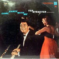 TED STRAETER come dance with me LP VG+ CL 1086 Vinyl 1958 Record