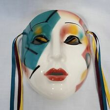 CLAY ART Ceramic Mask Geometric Party Design