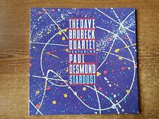 1983 Mint-Exc Dave Brubeck Cuarteto Cuenta Con Paul Desmond-Stardust 24278 2LP33