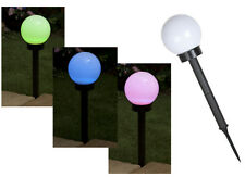 Large Colour Changing Solar Globe Light On Stake Garden Lights Outdoor Lamps