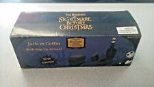 Nightmare Before Christmas Jack in Coffin Pop-Up figure Neca 2004