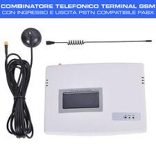 COMBINATORE TELEFONICO TERMINAL GSM con input ed output PSTN e supporto PABX
