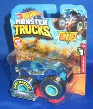 GIANT HOT WHEELS MONSTER TRUCKS 1:64 NESSIE-SARY ROUGHNESS CONNECT CRASH CAR #11