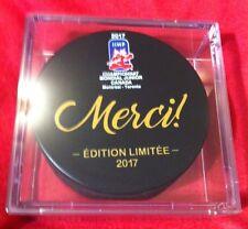 2017 World Juniors Hockey Championship WJC IIHF limited Edition Two Pucks