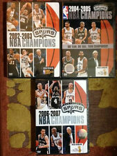 3 NEW 2003 2005 2007 SAN ANTONIO SPURS DVD NBA FINALS CHAMPIONS CHAMPIONSHIPS