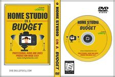 Home Studio On A Budget Training - Pro Audio & Video Production Made Easy DVD
