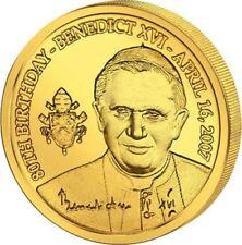 Euro-Gold-Gedenkmünzen aus dem Vatikan
