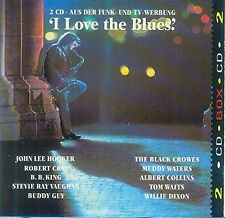 I love the Blues (1992, BMG/Ariola) John Lee Hooker, Robert Cray, BB Ki.. [2 CD]