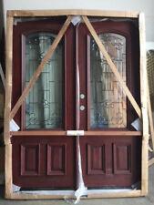 FREE SHIPPINGl!!!   Solid Mahogany Wood Door, Prehung & Finished DMH7107-5