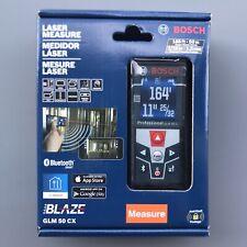 Bosch GLM 50 CX Blaze 165' 165 ft. Laser Distance Measure Bluetooth