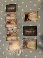 Kings of War Vanguard Forces Of The Abyss Warband Stat Cards Mantic Sealed