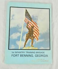 1980 US Army Co A 3rd Bn 1st Infantry Train Brigade Ft Benning Yearbook Military