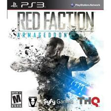 Red Faction Armageddon For PlayStation 3 PS3 Brand New 1E