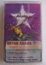 BRYAN ADAMS (K7 AUDIO) 18 TIL I DIE  -  NEUVE CELLOPHANE