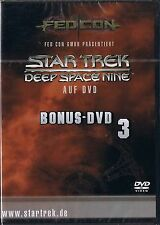 Star Trek Deep Space Nine Bonus DVD 3 FedCon NEU OVP