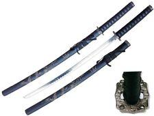 "39"" Samurai Sword Katana w/ Dragon Engraving Scabbard 440 Stainless Steel NIB"