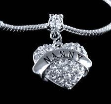 Nanny charm fits European bracelet babysitter best gift charm only best jewelry