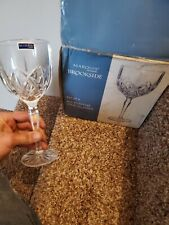 Marquis by Waterford BROOKSIDE Lead Crystal All Purpose Wine Glasses NIB