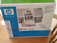 Hp psc 1610 all in one printer/scanner/copier cables included working