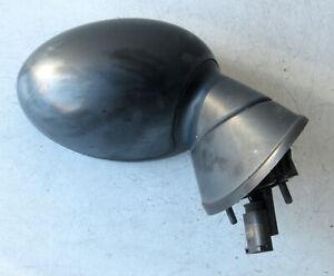 Genuine Used MINI (Matt Black) O/S Drivers Wing Mirror (3 Pin) R50 R52 R53 #61