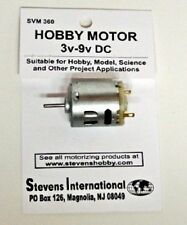 Stevens Motors 360  3 to 9v DC Small Electric Motor (Round Can)