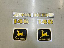 John deere 146 loader decals