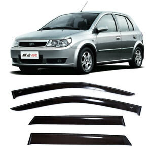For Faw Vita Hb 2007-2010 Side Window Visors Sun Rain Guard Vent Deflectors