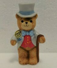 Vintage 1980 Lucy & Me - Enesco - Greatest Dad - Bear with Top Hat, Suit Cane