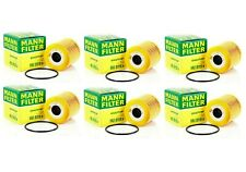 NEW Set of 6 Engine Oil Filters Mann for Volvo C70 S40 S60 S70 S80 V40 V70 XC90