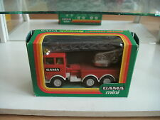 Gama Faun Fire Truck in Red in Box