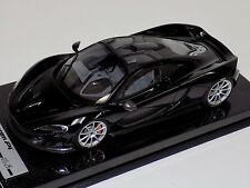 1/18 Tecnomodel McLaren P1 in Gloss Black with Silver wheels #01 of 25 Carbon