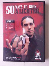 50 Ways To Rock A Lighter - DVD by Alex Aarvik - Zippo Magic Trick Juggling NTSC