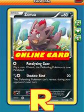 4x Zorua ( Paralizing Gaze ) - for the Pokemon TCG Online ( ptcgo in Game Card )