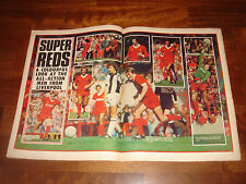 SHOOT MAGAZINE      MAY 1980     SUPER REDS IN COLOUR - LIVERPOOL'S 10-YEAR RULE