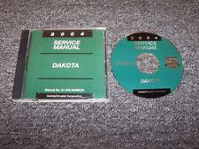 2004 Dodge Dakota Truck Shop Service Repair Manual CD Sport SXT SLT V6 V8