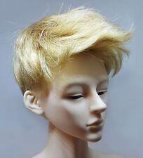 "BJD Wig, 9-10"", Blond Short Men's Style, ""Chris"""