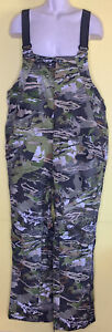 Under Armour Storm Loose Mid Season Kit Forest Camo Grit Bibs Size XL 1316872