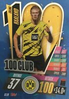 MATCH ATTAX 2020/21 CHAMPIONS LEAGUE 2020/2021 HUNDRED 100 CLUB ERLING HAALAND