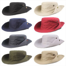Men Outdoor Sun Protection Hat Fishing Hiking Cap Foldable Wide Brim Bucket Hats