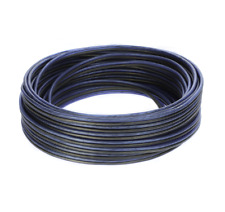 Voodoo Blue / Black Speaker Wire 16 gauge True AWG true spec (50 FT)