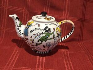 Paul Cardew Alice In Wonderland Collectors Teapot 1998