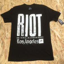 Young And Reckless Black 'Riot Los Angeles' T-Shirt **NEW**