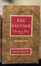 Dior Eau Sauvage Vintage & Prebarcode