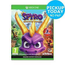 Spyro Reignited Trilogy Microsoft Xbox One Game 7+ Years